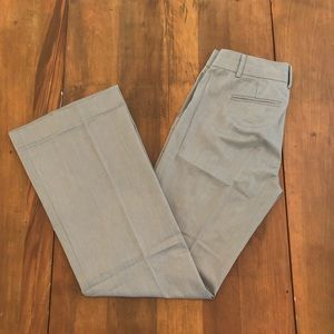 J Crew Taupe 100% Cotton Career Dress Pants